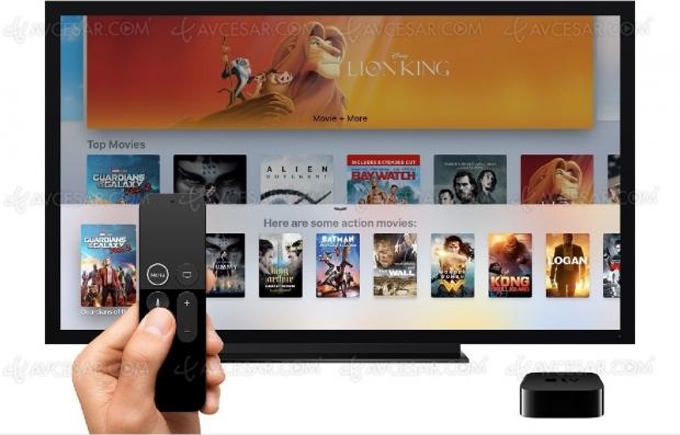 Plateforme de streaming vidéo Apple, annonce finmars?