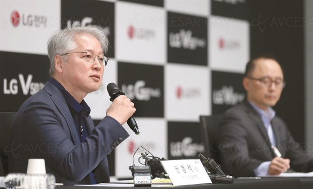 LG : «trop tôt pour lancer un smartphonepliable»