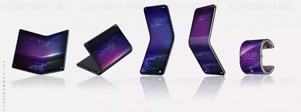 TCL prépare aussi ses smartphones pliables…