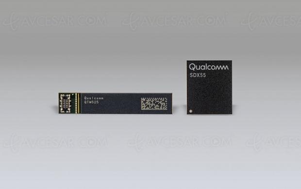 Qualcomm Snapdragon X50, nouveau modem 5G pour mobile