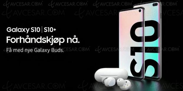 Samsung GalaxyS10, le spot de pub diffusé avec24h d'avance sur lachaîne norvégienne TV2