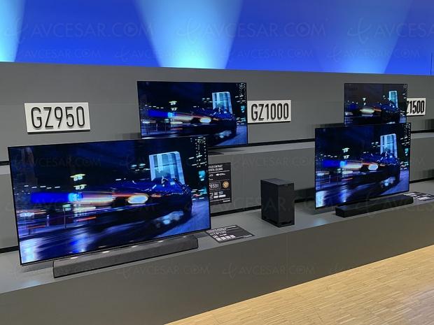 TV Oled Panasonic GZ950, 55'' et 65'' au programme