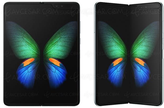 Smartphone Samsung GalaxyFold, que la guerre des pliablescommence!
