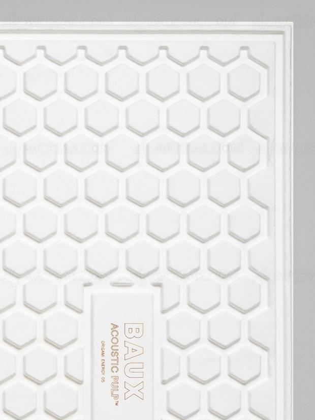 Panneaux acoustiques Baux 100% biosourcés 100% recyclables : Pulpe Fiction