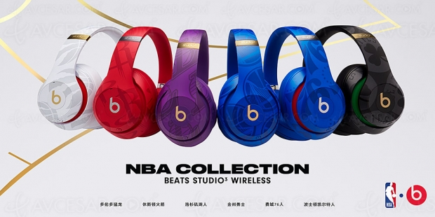Beats Studio3 Wireless Collection NBA