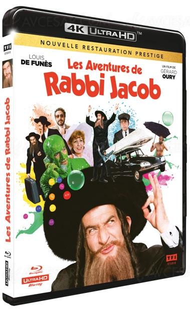 Rabbi Jacob 4K Ultra HD, il y aura finalement… à la rentrée prochaine !