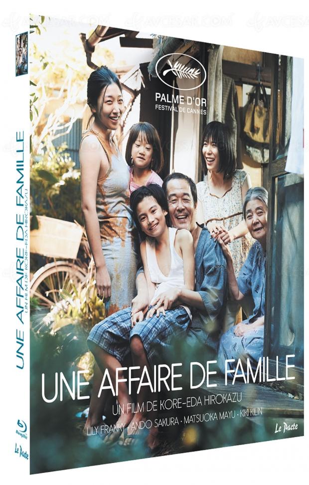 Une affaire de famille : la Palme d'or de Kore-Eda en Blu-Ray et DVD