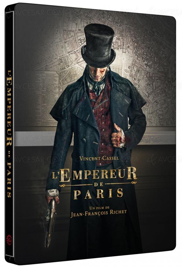 Vincent Cassel est Vidocq dans L'Empereur de Paris (en Blu-Ray uniquement à la Fnac)