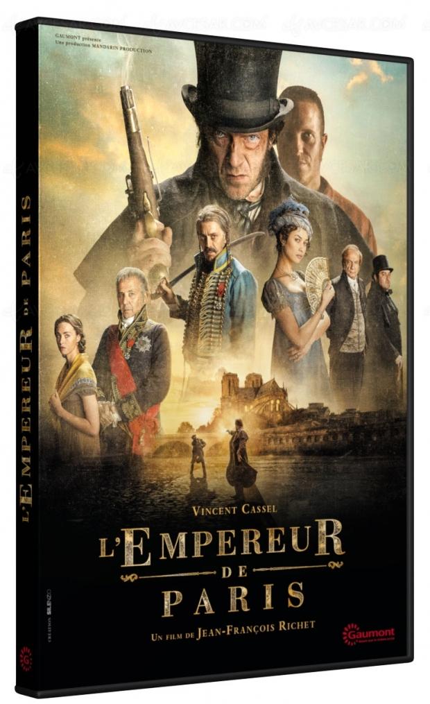 Vincent Cassel est Vidocq dans L'Empereur de Paris (en Blu‑Ray uniquement à la Fnac)