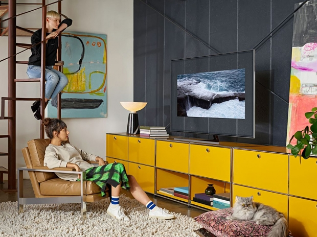 TV QLED Ultra HD/4K Samsung Q80R : 55
