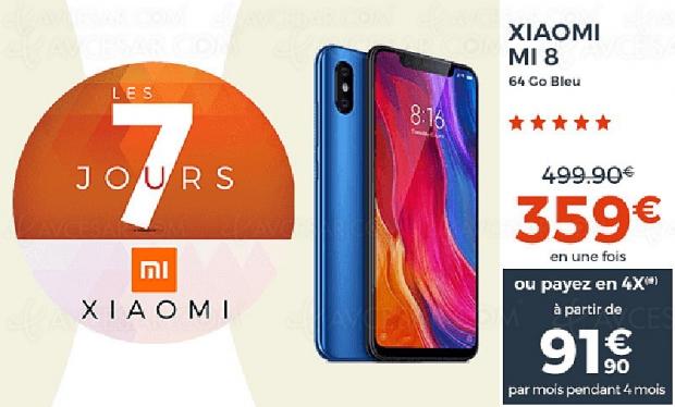 🔥 Opération Les 7 jours Xiaomi CDiscount, des dizaines de promos en cours