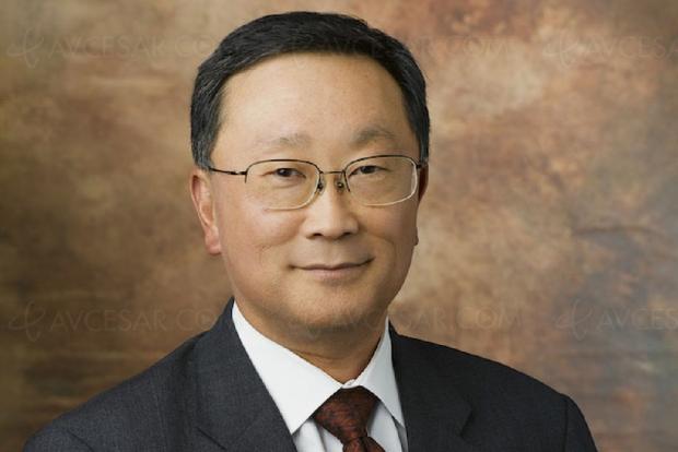 Le PDG de Blackberry, John Chen, ne croit pas aux smartphones pliables