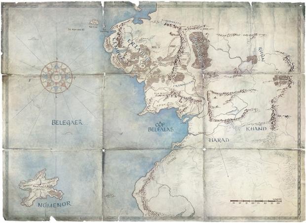 Série Amazon Le seigneur des anneaux, nouveaux détails