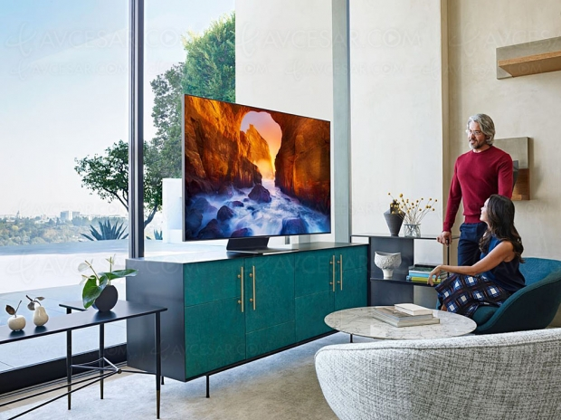 TV QLED Ultra HD/4K Samsung Q90R : 55