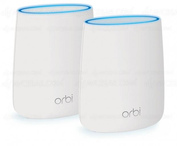 Test système Wi‑Fi Netgear Orbi RBK20, en ligne