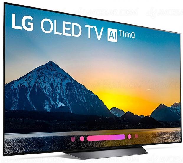 Bon plan Jours Fnac, TV Oled LG 55B8 à 1 399 €, soit -400 €