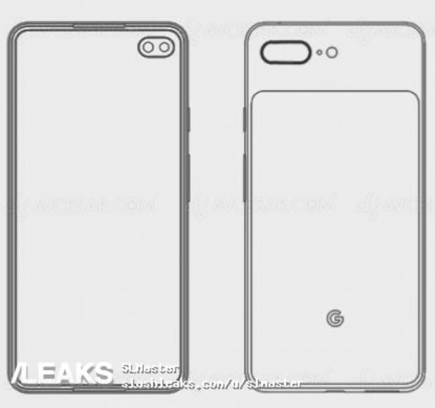 Smartphone Pixel 4XL, inspiré par le récent S10 Samsung ?