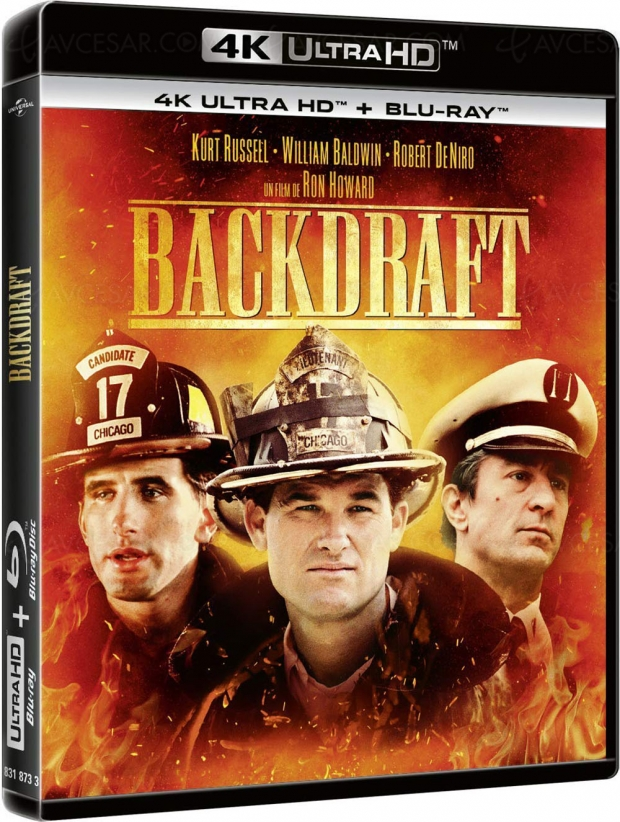 Backdraft 4K Ultra HD, en France aussi