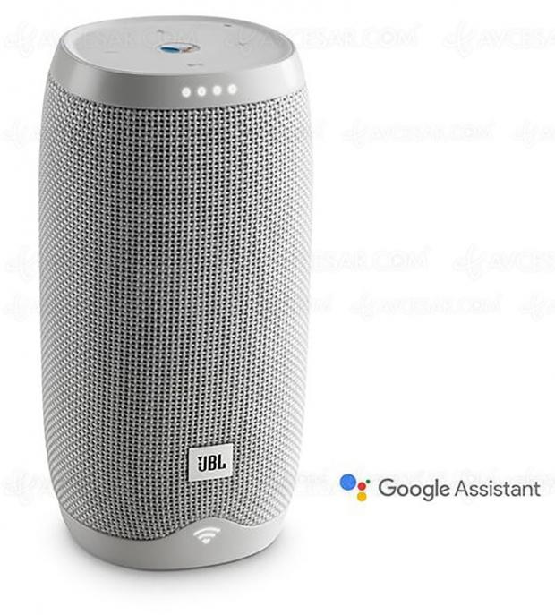 Bon plan Jours Fnac, enceinte Bluetooth JBL Link 10 Google Assistant à 99,99 €, soit -41%