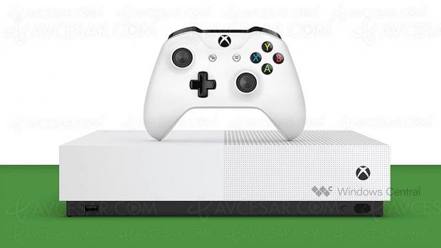 Xbox One S All‑Digital Edition, premières photos officielles ?