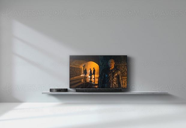Panasonic SC‑HTB900, barre de son 3.1 Bluetooth, Dolby Atmos/DTS:X et Google Assistant