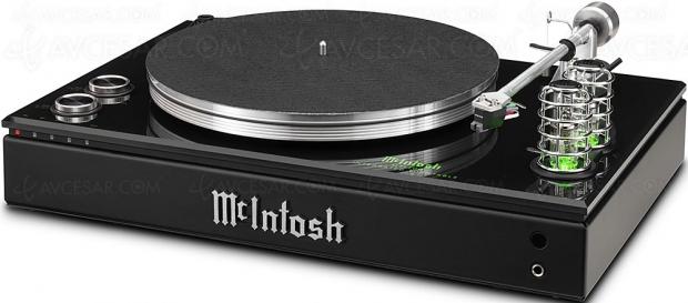 McIntosh MTI100, système tout en un ampli + platine vinyle + réseau Bluetooth