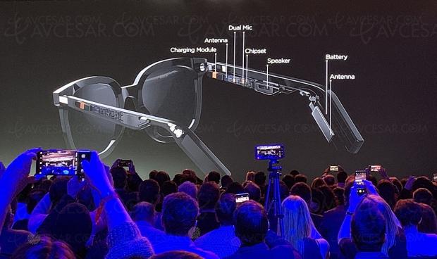 Huawei EyeWear Smart, lunettes connectées en collaboration avec Gentle Monster