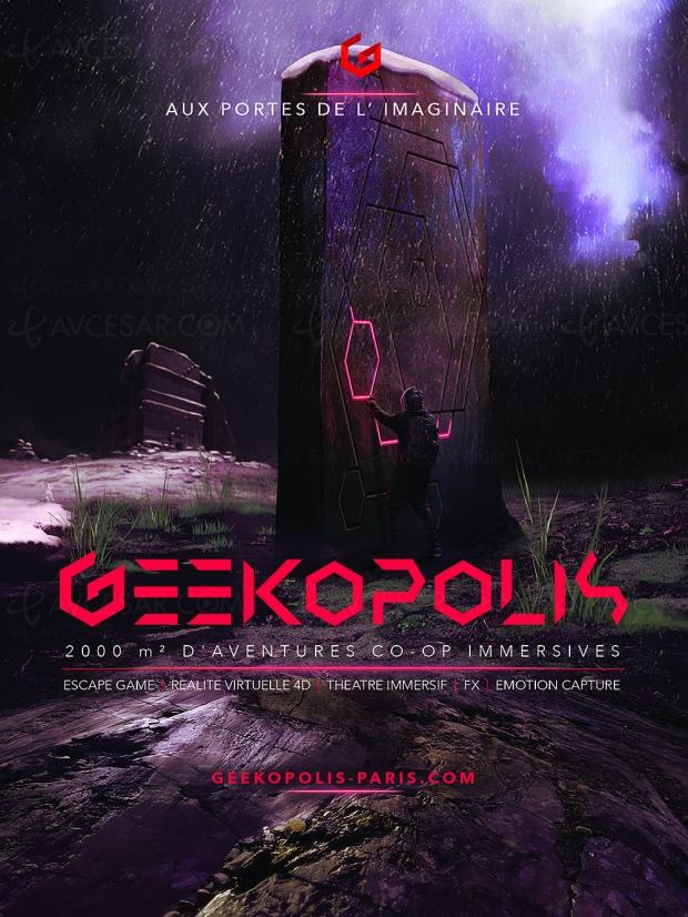 Geekopolis, temple de la réalité virtuelle, des loisirs numériques et de l'Escape Game près de Paris