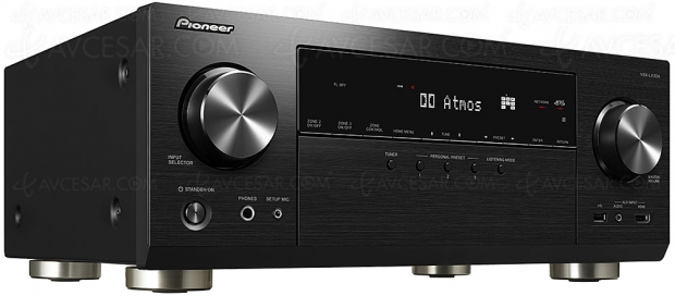 Pioneer VSX‑LX304, 9.2, Dolby Atmos, DTS:X, Imax Enhanced, FlareConnect, ChromeCast, DTS Play‑FI, DSD…