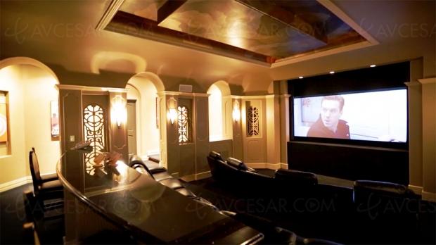 Maison à vendre de 13 000 m2 avec Home Cinéma de millionnaire