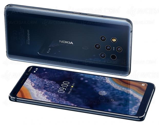 Smartphone Nokia 9 PureView : cinq caméras, record battu !