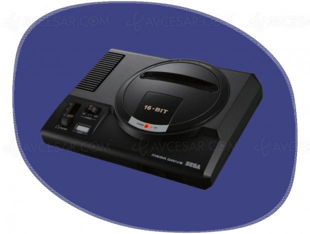 Console MegaDrive Mini : mise à jour prix et disponibilité