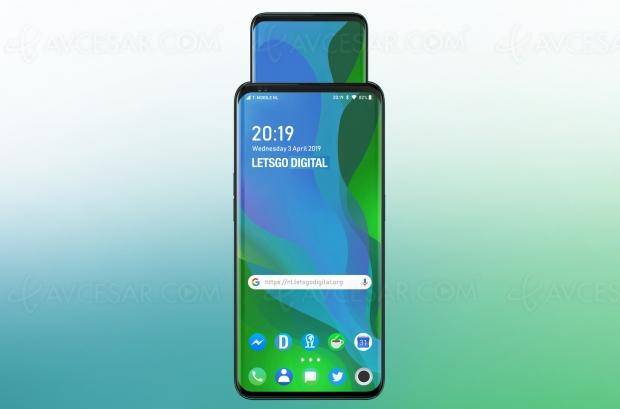 Brevet smartphone Oppo : un écran… qui sort de l'écran !