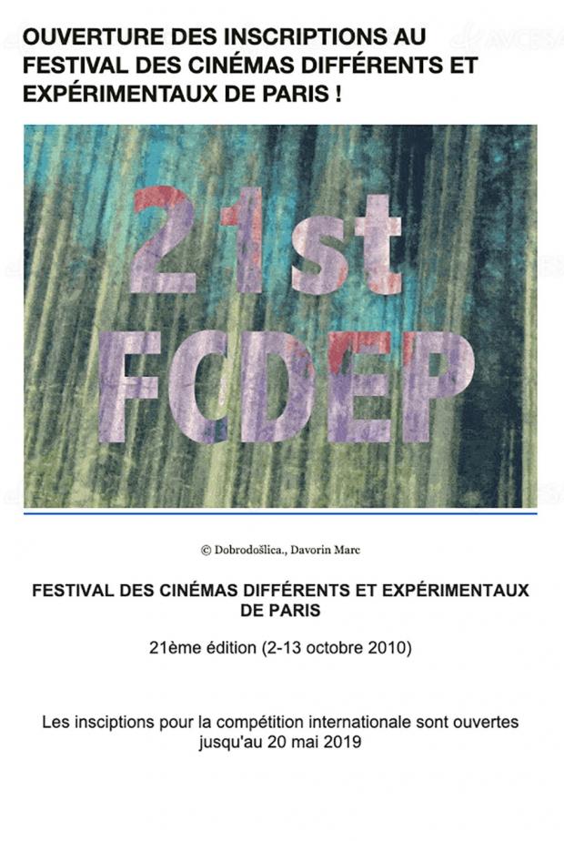 Cinéastes, à vos caméras pour le Festival des cinémas différents et expérimentaux de Paris