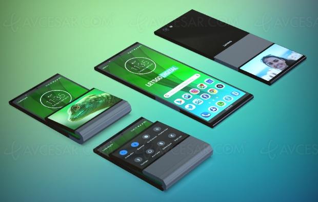 Lenovo tente une vision personnelle du smartphone pliable