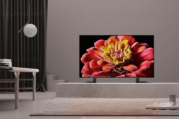 TV LED Ultra HD Sony XG9005, mise à jour prix indicatif
