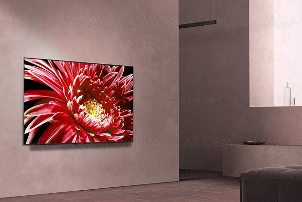 TV LED Ultra HD Sony XG8505, mise à jour prix indicatifs