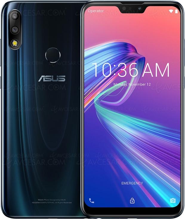 Test smartphone Asus ZenFone Max Pro M2, en ligne