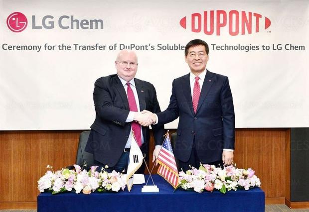 LG Chem rachète la division Oled de l'Américain DuPont en vue de l'Oled 2.0