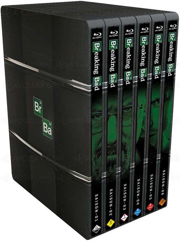 Bon plan coffrets série TV Blu‑Ray Breaking Bad : intégrale et édition Steelbook à -49%