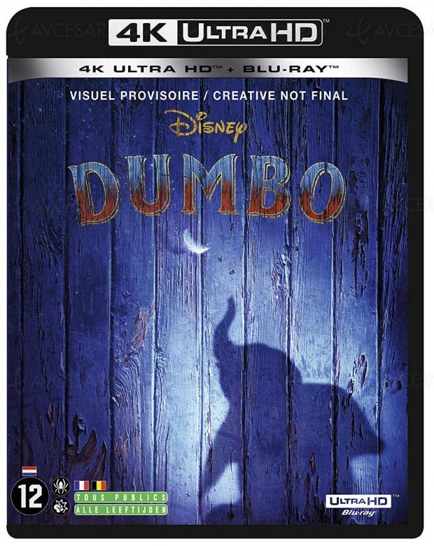 Dumbo de Tim Burton, précommandes 4K Ultra HD ouvertes