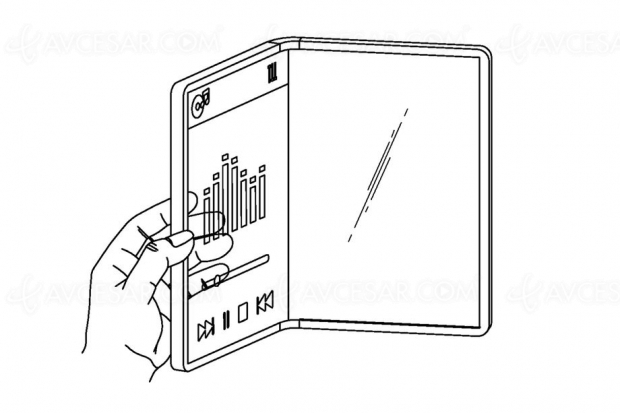Brevet LG pour un smartphone pliable… et transparent