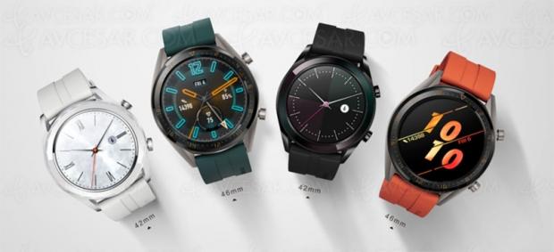 Huawei Watch GT Version 2 et Elegant Edition, nouvelles montres connectées