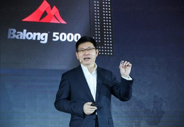Huawei prêt à vendre sa puce 5G… mais seulement à Apple