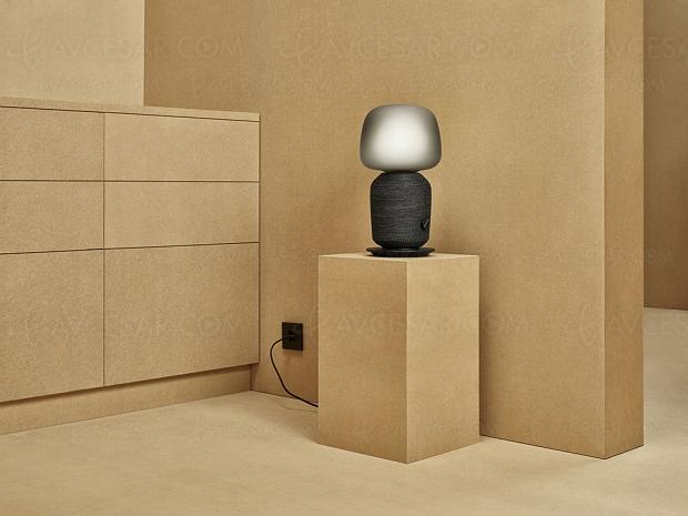 Enceinte-lampe de chevet Symfonisk signée Ikea/Sonos