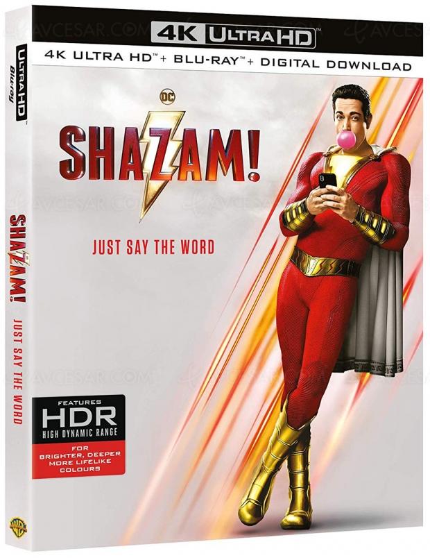 Shazam! 4K Ultra HD, précommandes France ouvertes