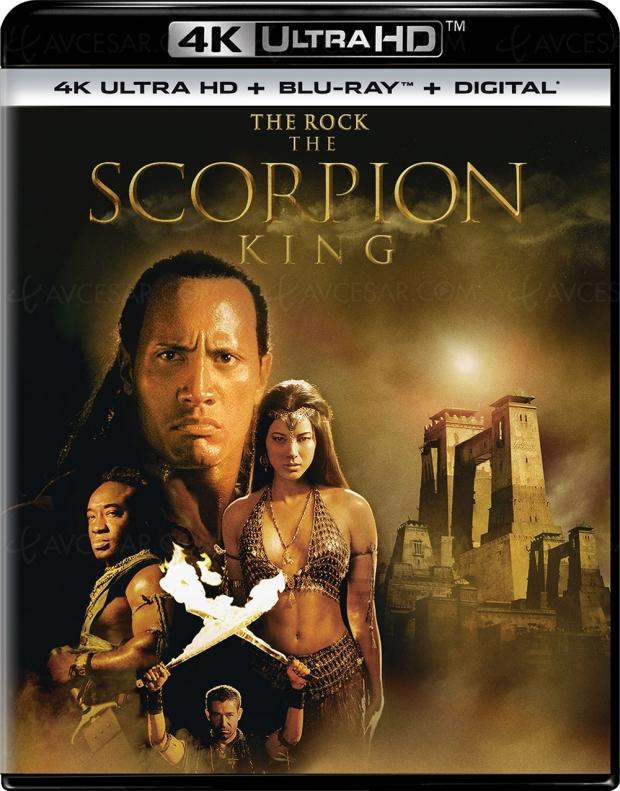 Le roi Scorpion, Dwayne « The Rock » Johnson plus jeune et en 4K Ultra HD