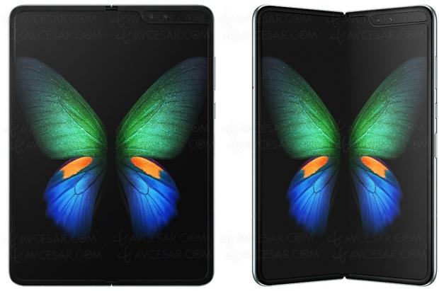 Samsung Galaxy Fold, problème d'écran pour le smartphone pliable ?