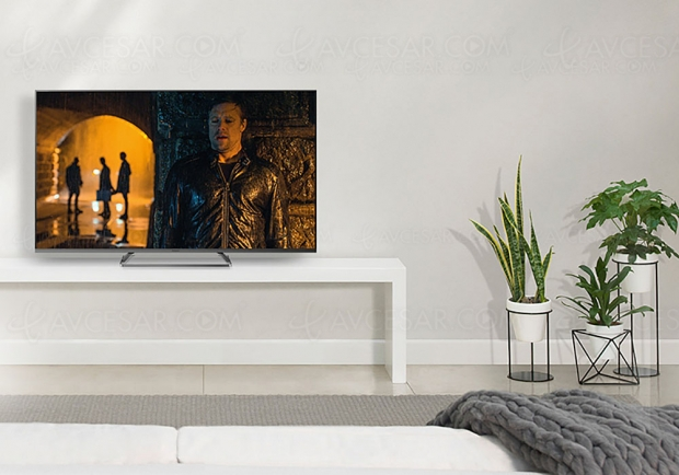 TV LED Ultra HD Panasonic GX810, 40'', 50'', 58'' et 65