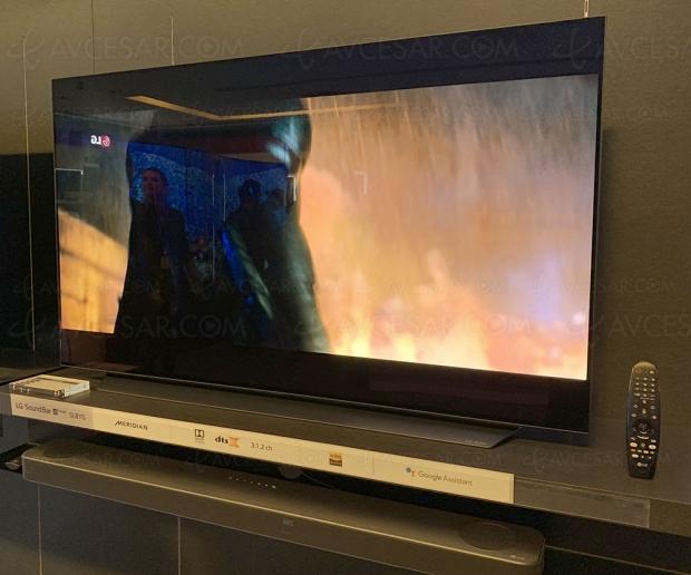 TV Oled Ultra HD LG C9, mise à jour spécifications et prix indicatifs